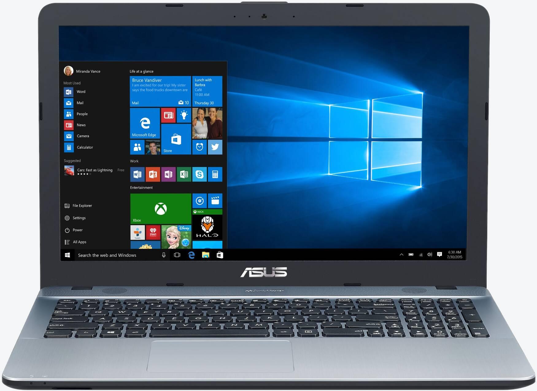 ASUS VivoBook Max X541NA-GQ586T Silber