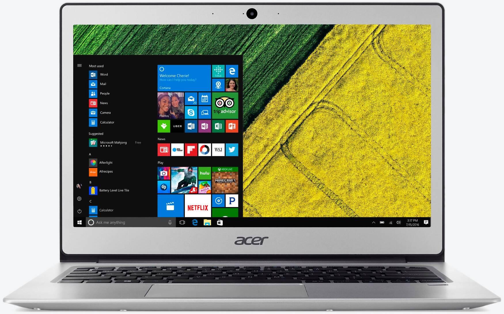 Acer Swift 1 SF114-32-P60X Silber