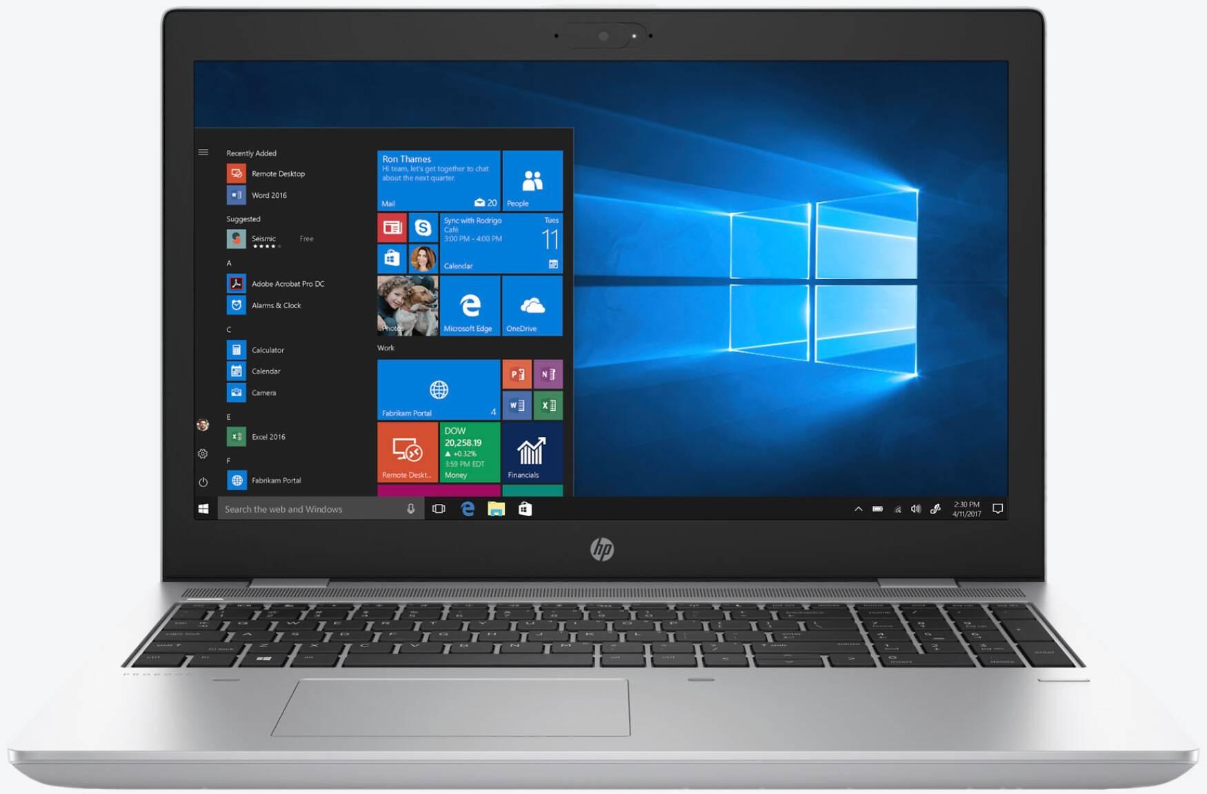 HP ProBook 650 G4 (3UP59EA) LTE Silber