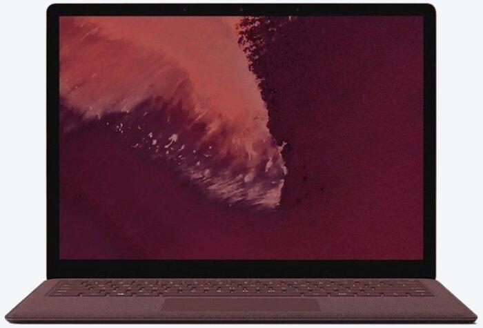 Microsoft Surface Laptop 2, Core i5, 8GB RAM, 256GB SSD Rot