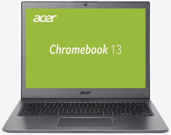 Acer Chromebook 13 CB713-1W-57G8 Grau