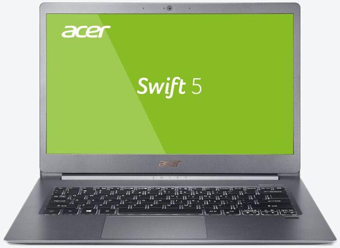 Acer Swift 5 SF515-51T-70UX Silber