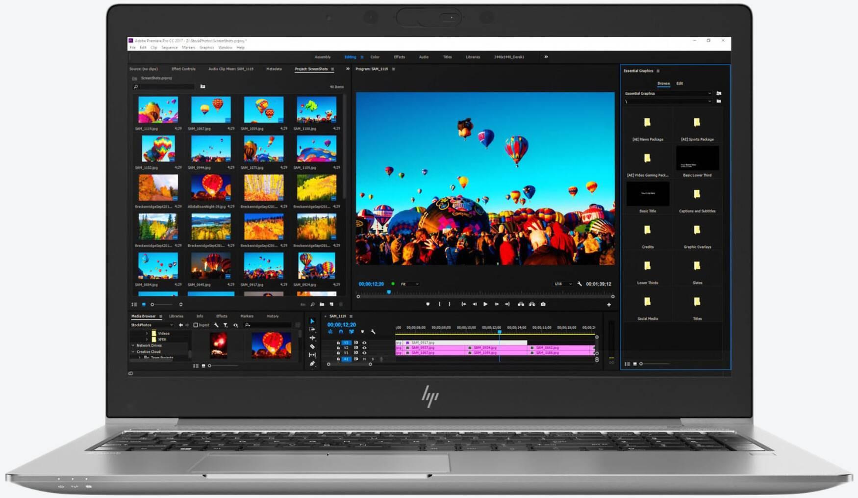 HP ZBook 15u G5 (4QH08EA) 4K