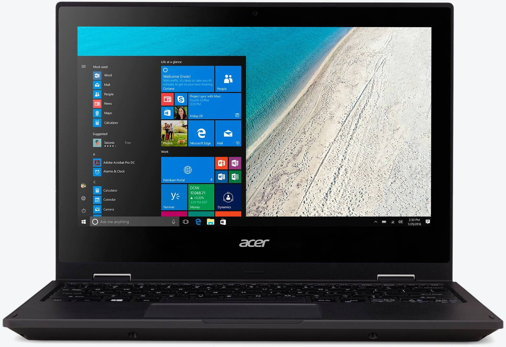 Acer TravelMate Spin B118-G2-RN-P31P