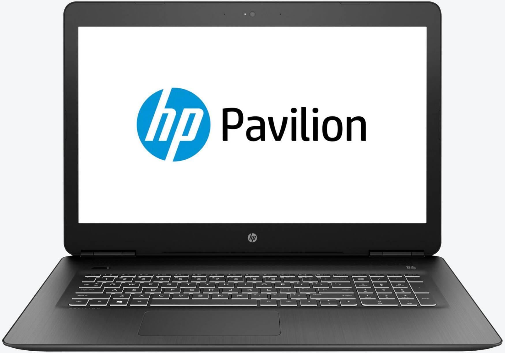 HP Pavilion 17-ab431ng Schwarz