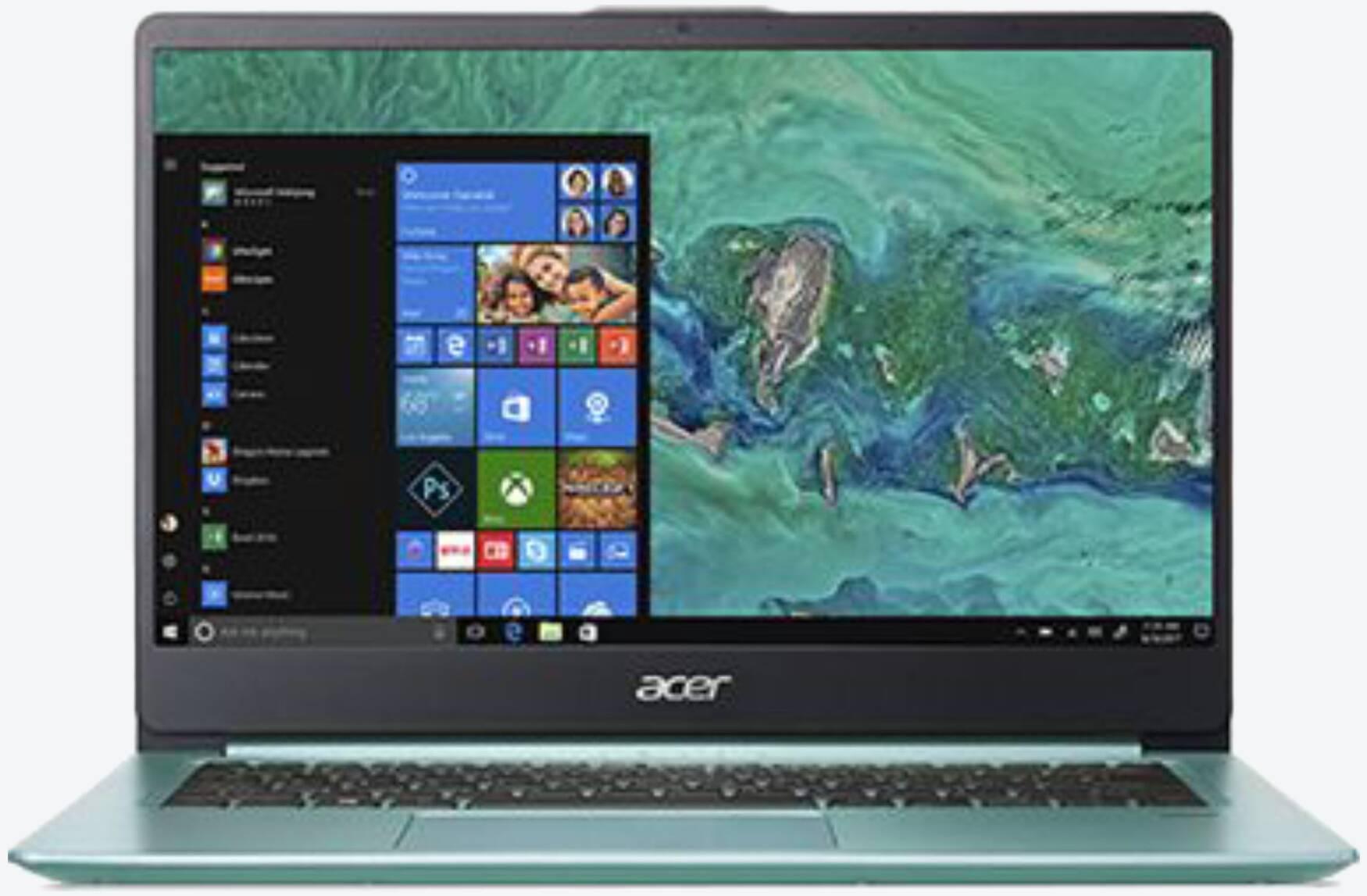 Acer Swift 1 SF114-32-P6HS Grün