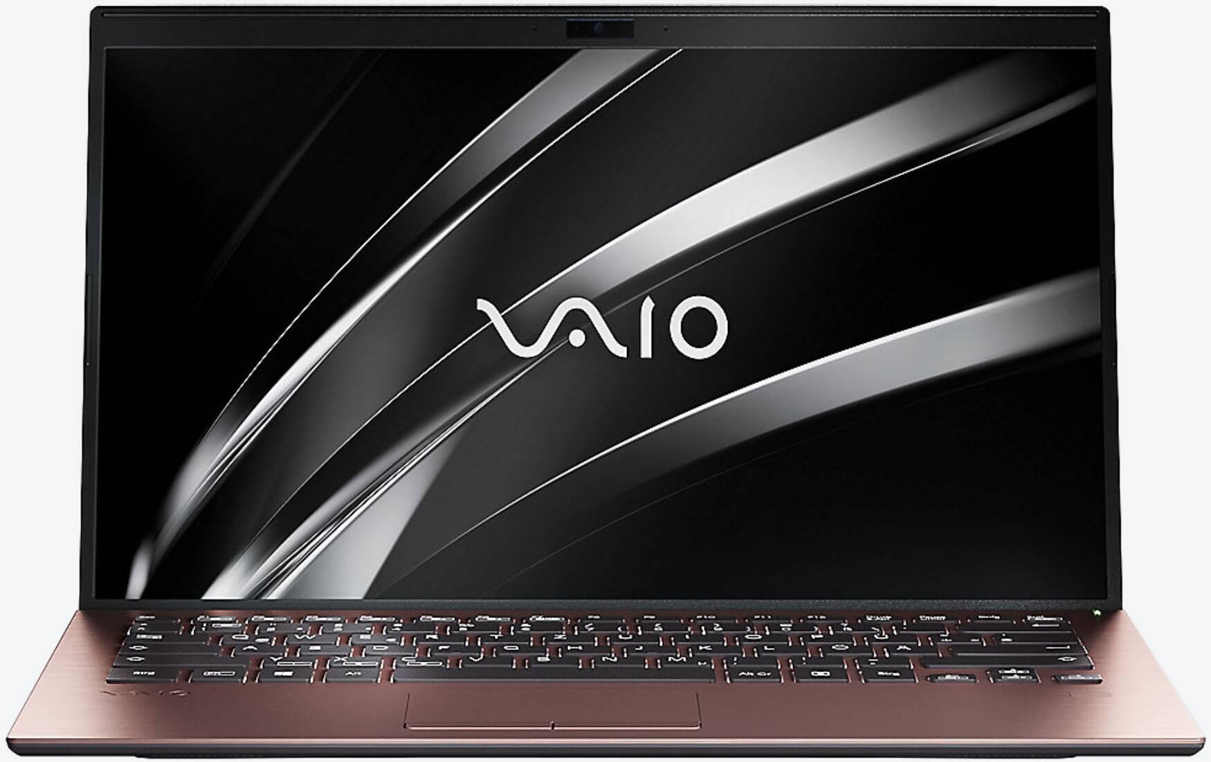 VAIO SX14 FHD, i7-8565U, 16GB RAM, 512GB SSD, LTE Braun