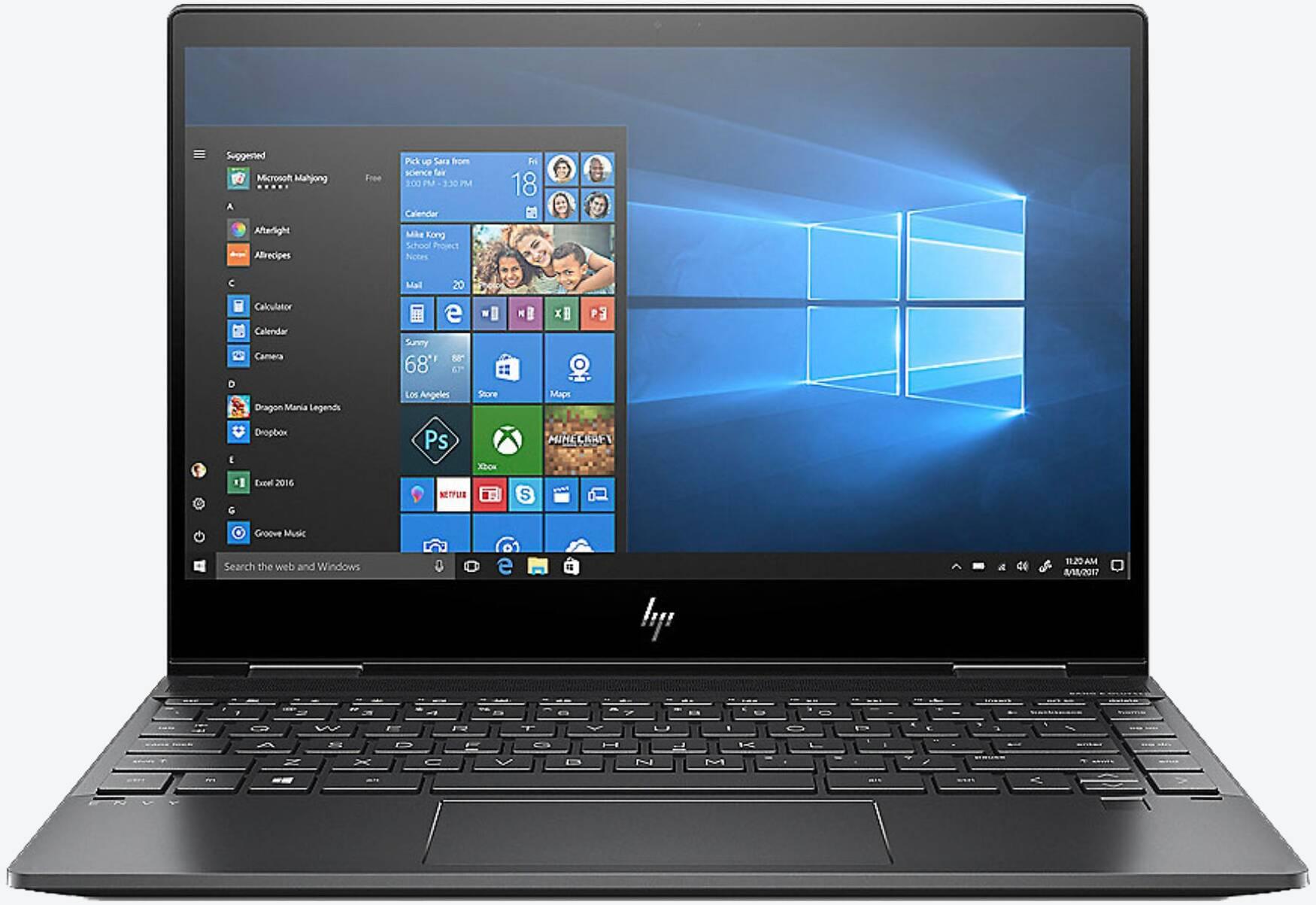 HP ENVY x360 13-ar0006ng Schwarz