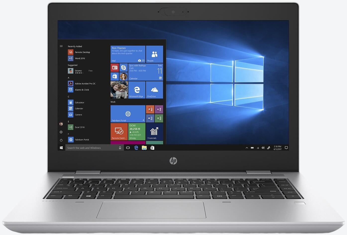 HP ProBook 640 G5 (6XE23EA) LTE Silber