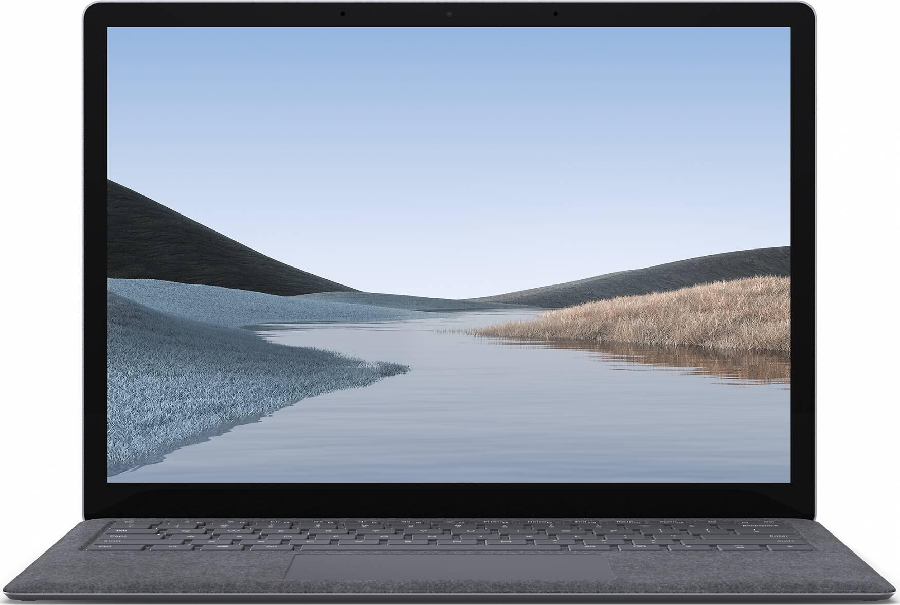 Microsoft Surface Laptop 3 13,5 Zoll, Core i5, 8GB RAM, 256GB SSD, Platin