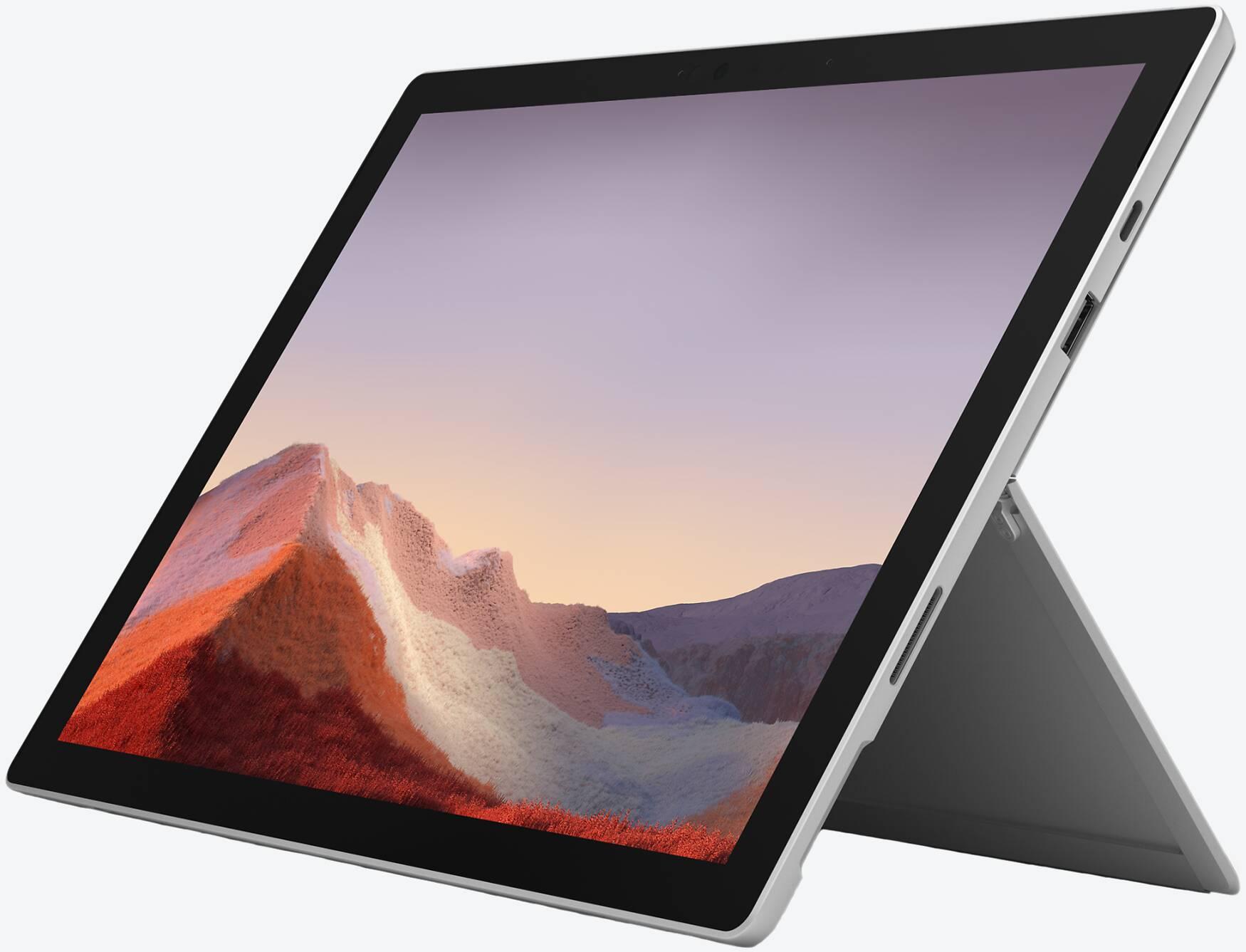 Microsoft Surface Pro 7, Core i7, 16GB RAM, 512GB SSD, Platin
