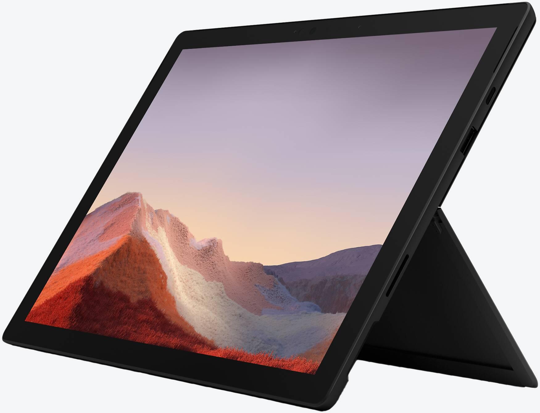Microsoft Surface Pro 7, Core i7, 16GB RAM, 512GB SSD, Schwarz