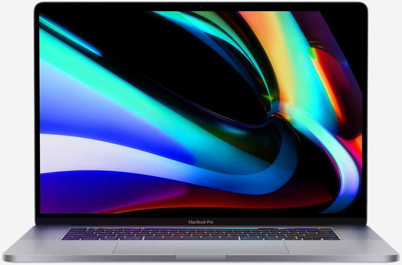 Apple MacBook Pro Retina 16'' mit Touchbar (Late 2019) Core i9-9880H, 16GB RAM, 1TB SSD, Grau