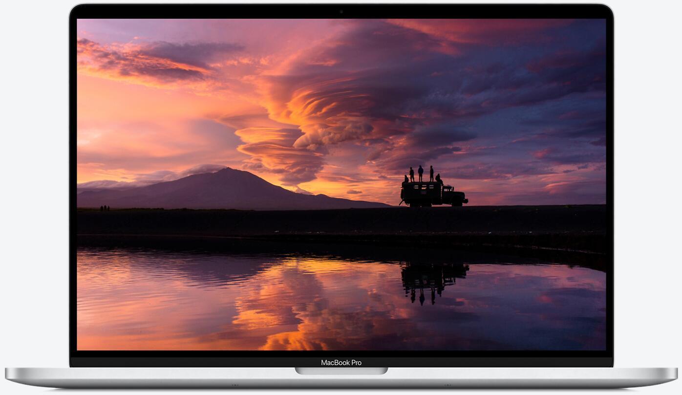 Apple MacBook Pro Retina 16'' mit Touchbar (Late 2019) Core i7-9750H, 16GB RAM, 512GB SSD, Silber