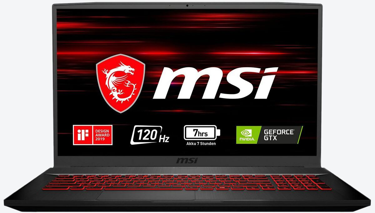 MSI Gaming Series GF75 9SC-016 Thin