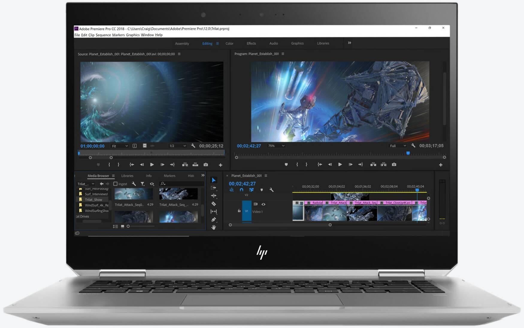 HP ZBook Studio X360 G5 (8JL31EA)