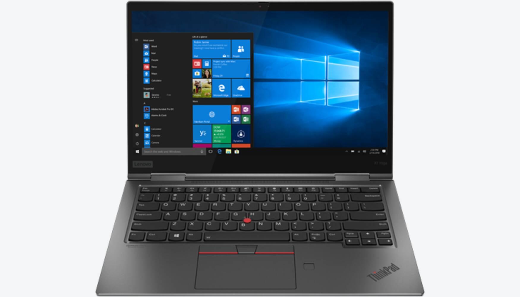 Lenovo ThinkPad X1 Yoga G4 LTE Grau 20QF0027GE