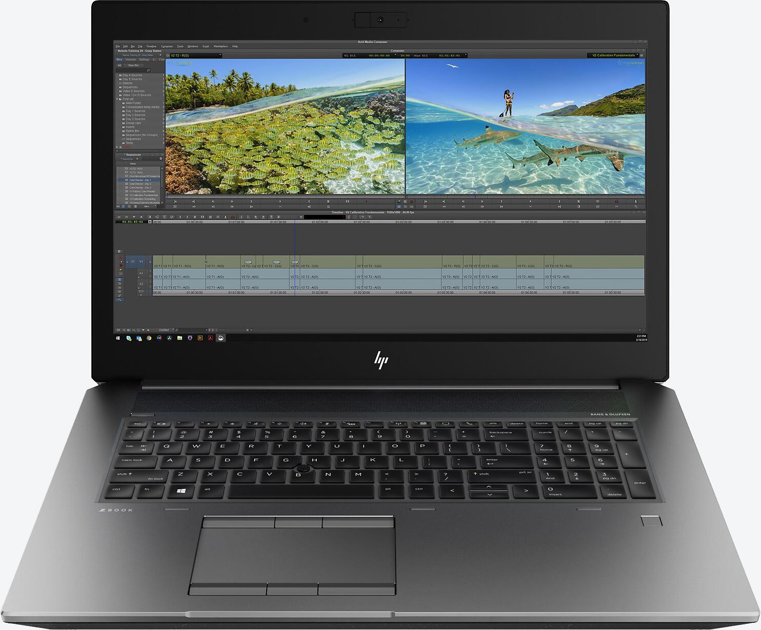 HP ZBook 17 G6 Grau (6TU97EA)