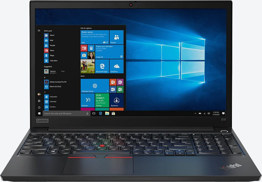 Lenovo ThinkPad E15 Schwarz 20RD0011GE